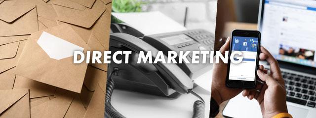 ダイレクトマーケティングの代表的な3つの手法