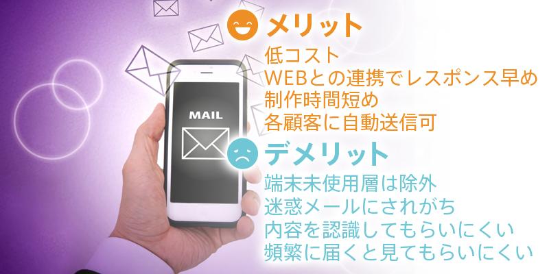 電子メールのメリット・デメリット